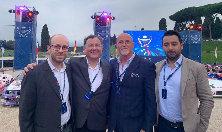 European-Union-Experts at the Motorsport Games in Rome invited by RPM