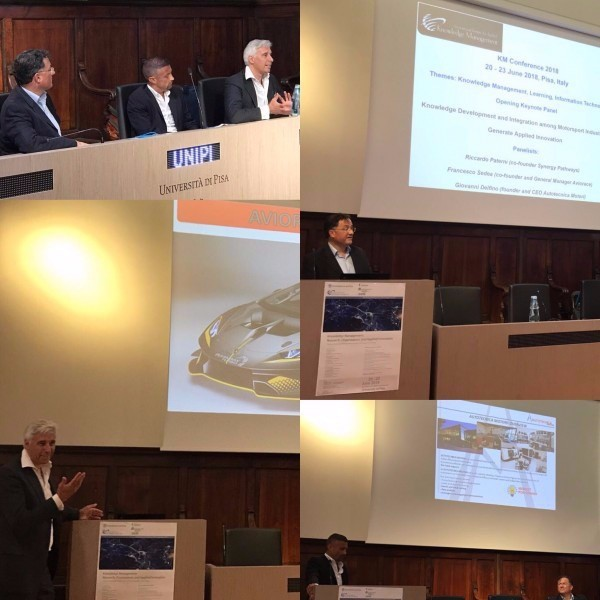 MOTORSPORT TAKES CENTER STAGE AT AN INTERNATIONAL CONFERENCE ON KNOWLEDGE MANAGEMENT AND INNOVATION